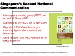 singapore s second national communication