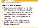 what is the ifrtd