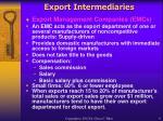 export intermediaries9