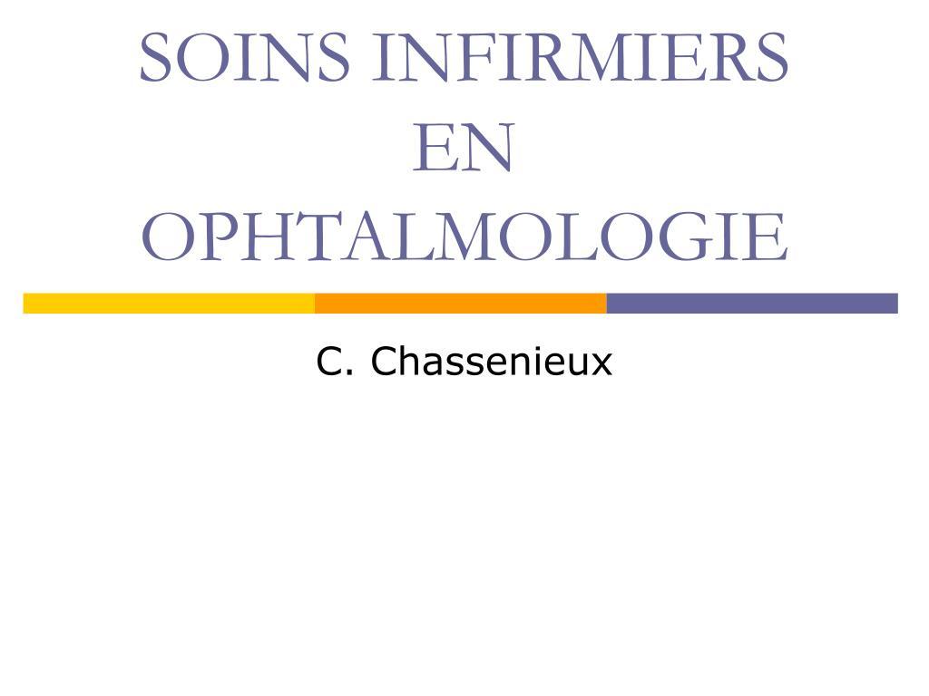 soins infirmiers en ophtalmologie l.