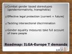 roadmap ilga europe t demands