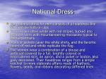 national dress
