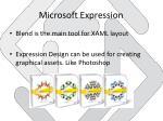 microsoft expression