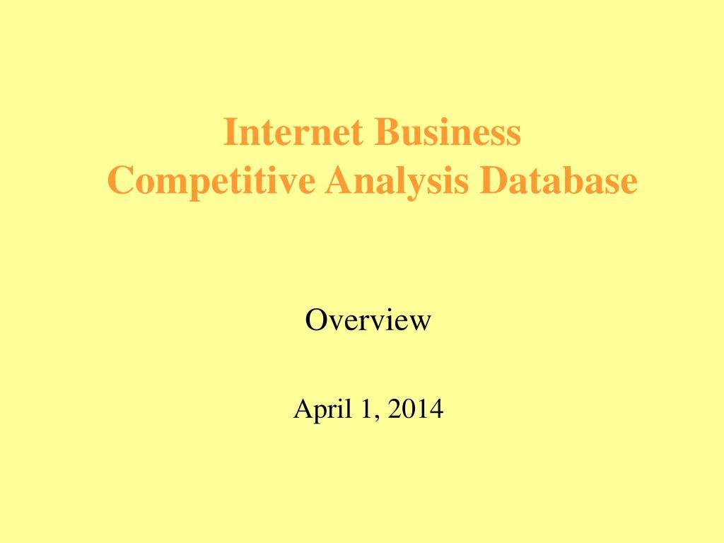 overview april 1 2014 l.