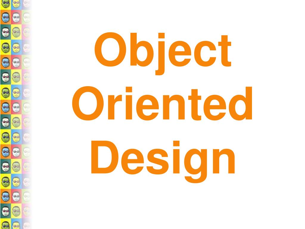 object oriented design l.
