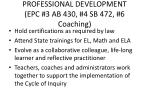 professional development epc 3 ab 430 4 sb 472 6 coaching