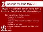 change must be major