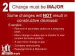 change must be major22