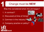 change must be new18