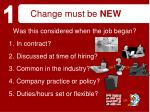change must be new19