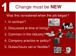 change must be new20