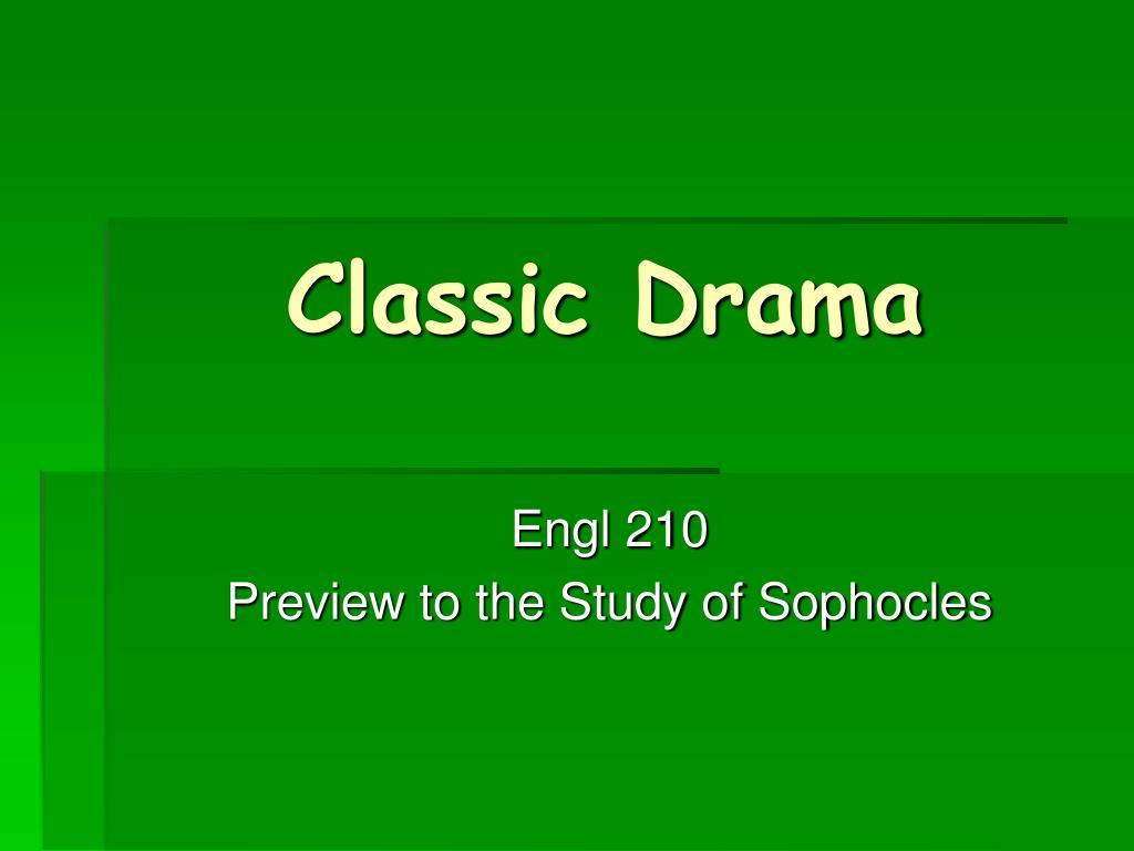 classic drama l.