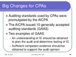 big changes for cpas10