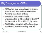 big changes for cpas11