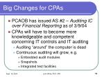 big changes for cpas13