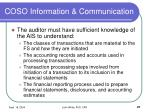 coso information communication27