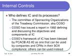 internal controls21