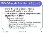 pcaob audit standard 2 cont32