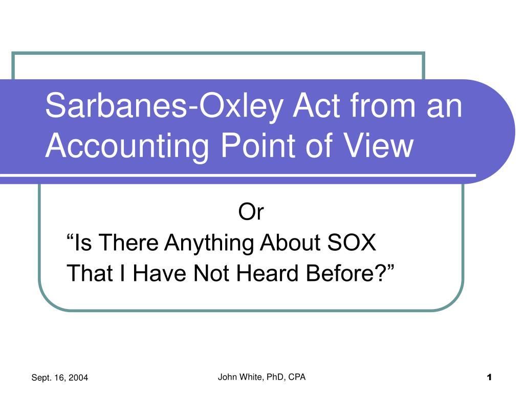 sarbanes oxley act sox Kmb attorneys are nationally renowned for enforcing the sarbanes-oxley act and protecting the rights of corporate whistleblowers at publicly traded companies.