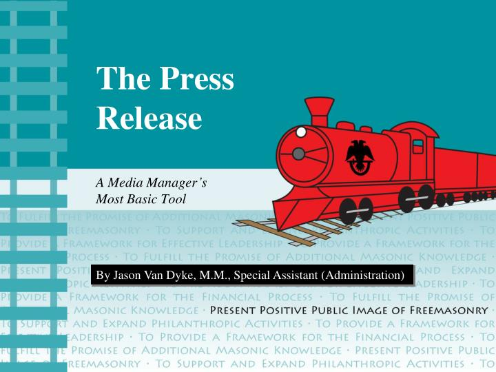 the press release n.