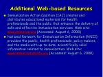 additional web based resources146