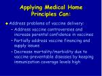 applying medical home principles can16