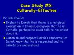 case study 5 culturally effective136