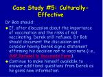 case study 5 culturally effective138