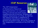 cisp resources158