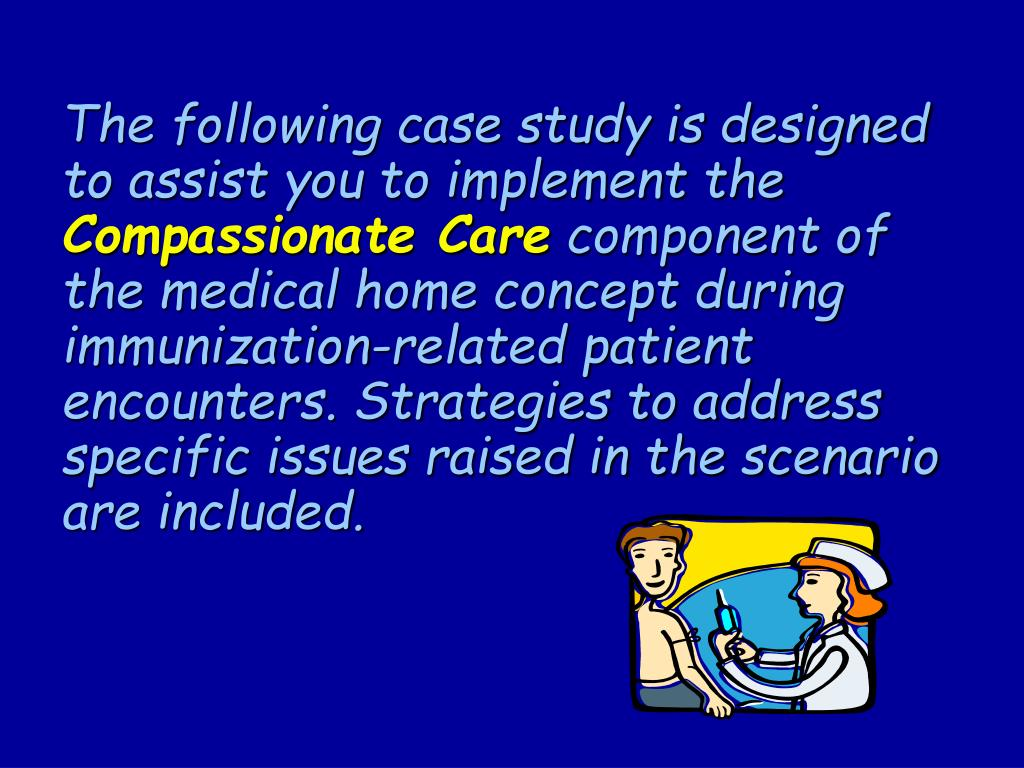 The following case study is designed to assist you to implement the