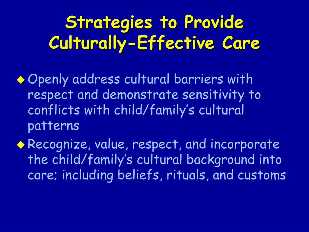 Strategies to Provide