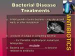 bacterial disease treatments