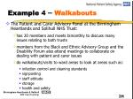 example 4 walkabouts
