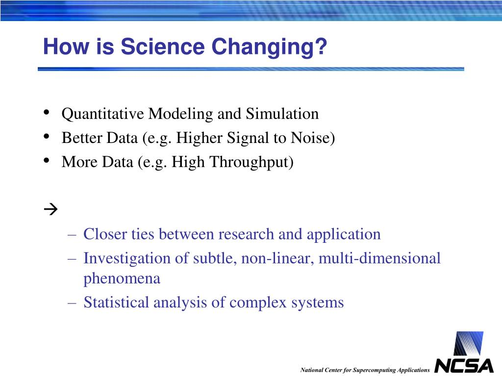 How is Science Changing?
