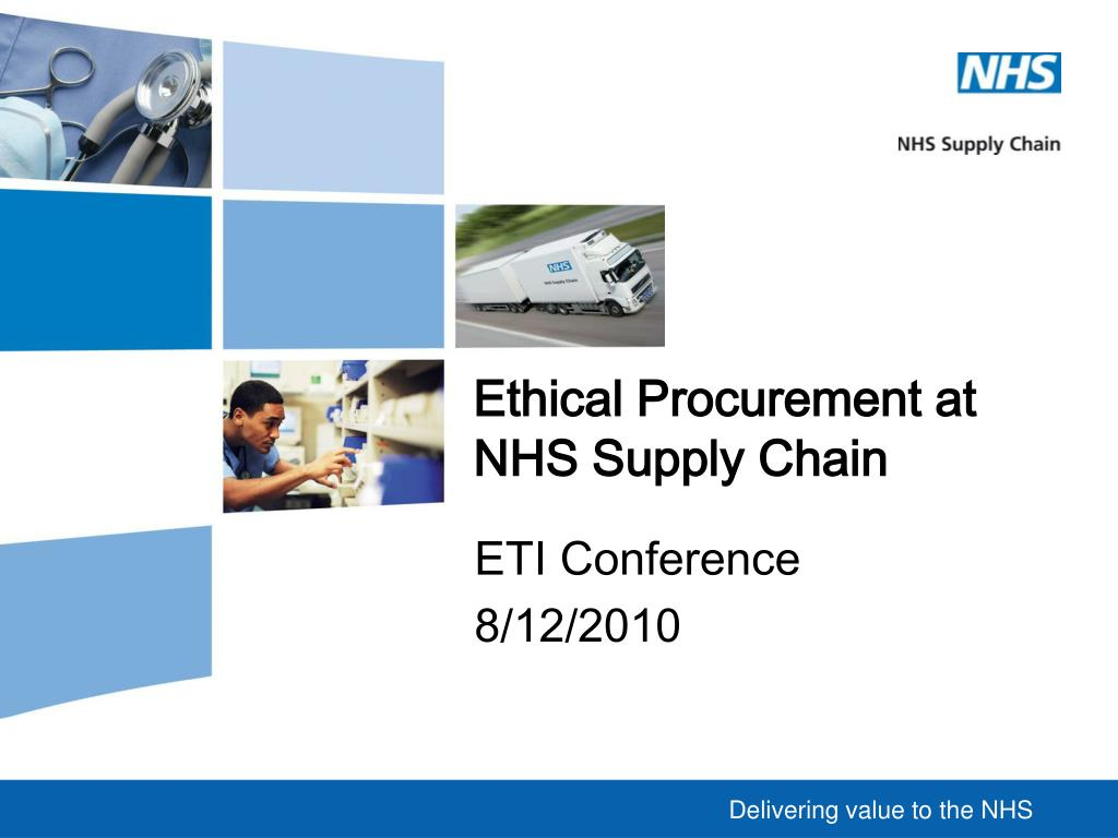 ethical procurement at nhs supply chain l.