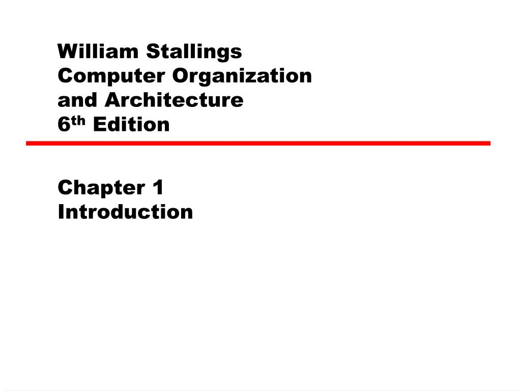 william stallings computer organization and architecture 6 th edition l.