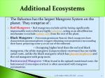 additional ecosystems