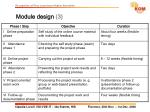 module design 3