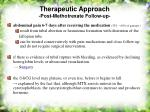 therapeutic approach post methotrexate follow up