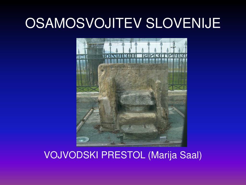 osamosvojitev slovenije l.