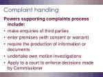 complaint handling9