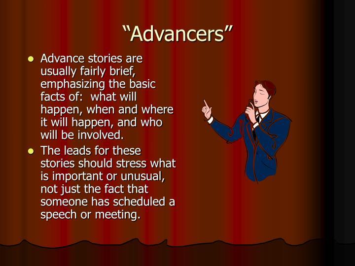 """""""Advancers"""""""