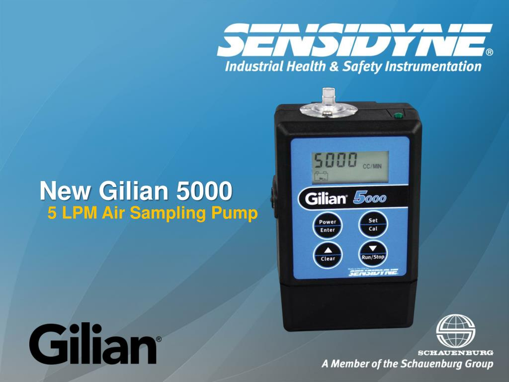 new gilian 5000 l.