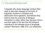 1 theoretical background