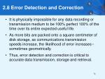 2 8 error detection and correction