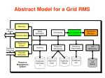 abstract model for a grid rms13