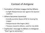context of antigone
