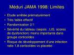 m duri jama 1998 limites
