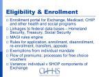 eligibility enrollment