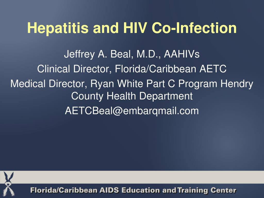 hepatitis and hiv co infection l.